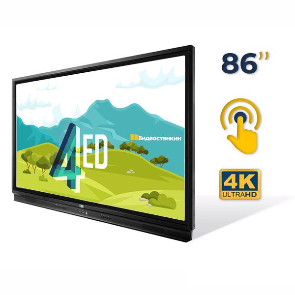 Интерактивная панель 86 дюймов Screen4ED FTLT86-B