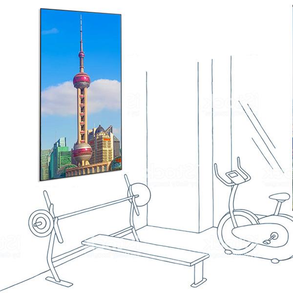 LCD панель 98″ EliteBoard TB-98US1 в портретном режиме