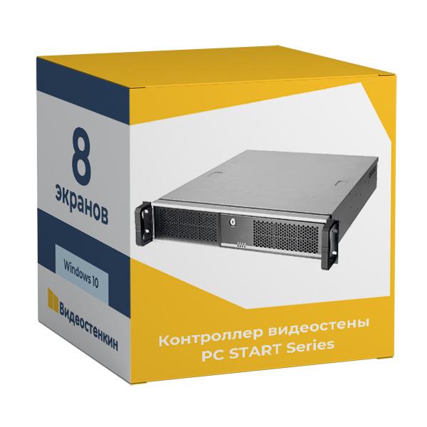 Программный контроллер видеостены до 8 панелей (1x3, 2x2, 2x3 и 2x4)